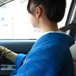 着物でドライブ(^^)