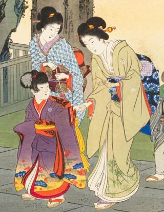 ☆錦絵で楽しむ四季の装い☆ 七五三~愛らしさひきたつ童子の装い