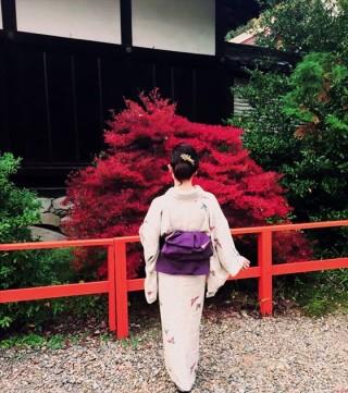 ☆着物でおでかけ☆秋の京都へ