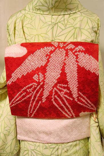 笹本絞り帯