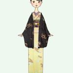 ☆コーディネト自在!和の伝統を楽しむ古典柄着物の装い☆