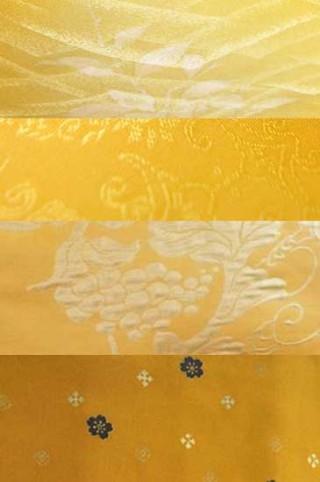 【着物色図鑑】黄色