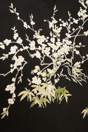 梅に鶯羽織1