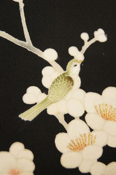 梅に鶯羽織2