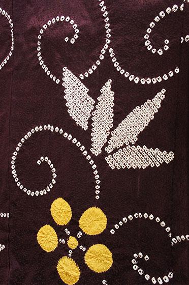 梅鉢本絞り羽織