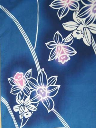 【着物柄図鑑】植物模様―水仙