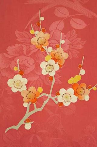 【着物柄図鑑】植物模様―梅