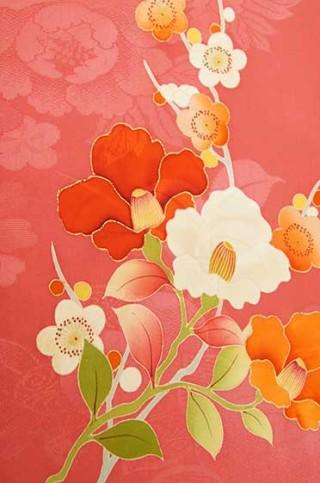 【着物柄図鑑】植物模様―椿