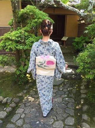 ☆着物でおでかけ☆風薫る初夏の奈良散歩1~志賀直哉旧居