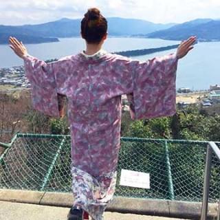 ☆着物でおでかけ☆春の着物旅~京丹後温泉ぶらり旅 2日目~