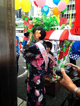 ☆浴衣でおでかけ☆愛染祭り始まりました―!!!