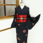 ☆夏のおすすめスタイル☆浴衣の着物風コーデ♪本絞り浴衣編