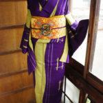 ☆新商品UP!☆ナチュラルウールやロマンチックな葡萄紫着物、大胆アンティーク着物などです♪