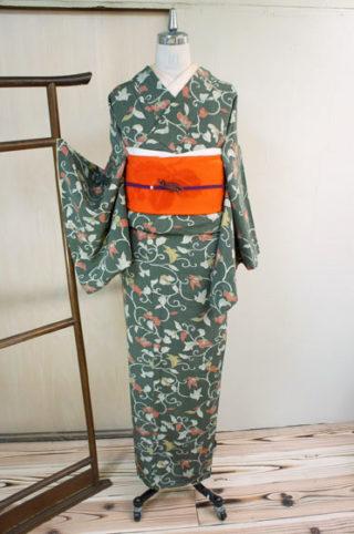 ☆新商品UP!☆超絶身丈長お召し着物や秋の装い着物や羽織♪