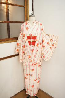 ☆新商品UP!☆ストライプにさくらんぼのアンサンブルやカッコイイ椿と牡丹の羽織など♪