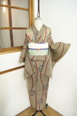 ☆新商品UP♪☆,大胆なアラベスク柄浴衣や竹の帯などです♪