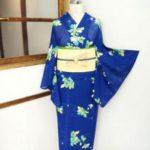 ☆新商品UP♪☆空色に絵本の挿絵のような夏着物や人気の色浴衣です(*^^*)