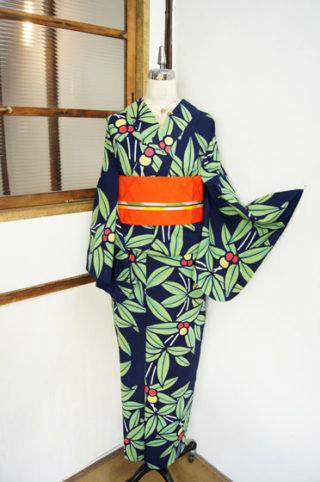 ☆新商品UP♪☆絵本のような木の実の浴衣