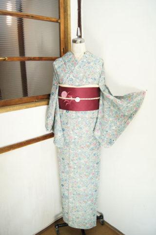 ☆新商品UP♪☆お花畑の紬着物やのほほん子供と鶏の帯など(*^^*)