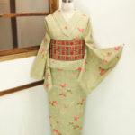 ☆新商品UP♪☆コート羽織り着物セットが珍しいです(*^^*)