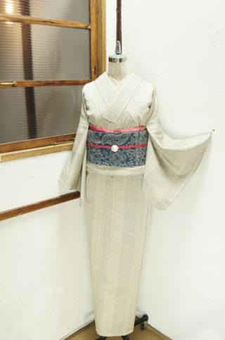 ☆新商品UP♪☆縞木綿着物や人気の麻の葉柄単など(*^^*)