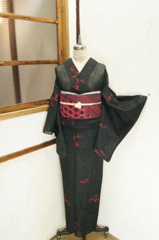 ☆新商品UP♪☆珍しい系浴衣やカッコイイ赤黒夏着物