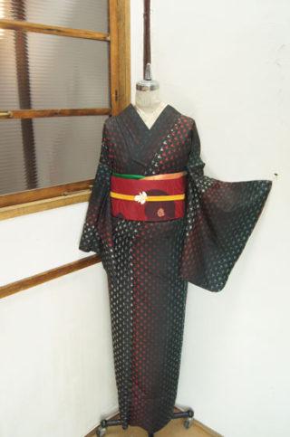 ☆新商品UP♪☆紫絞り着物や絞り羽織など♪