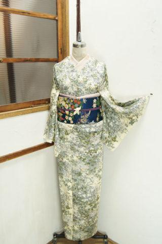 ☆新商品UP♪☆紫アンティック着物に獅子の帯や人気のアンサンブルなど☆