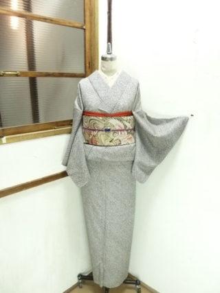 ☆新商品UP♪☆鯉の紬や大人ブラック総絞り着物など☆