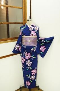 ☆新商品UP☆レトロ浴衣続々!桜草に馬に花篭♪