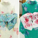 ☆新商品UP☆薔薇の大人兵児に薔薇の単帯に薔薇の浴衣!