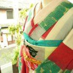 ☆オンラインショップ新商品UPしました☆市松の夏着物あります(*^^*)