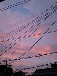 *魅惑的な夕焼け*