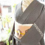 ☆新商品UPしました~☆芥子色の八掛がオシャレ~な袷着物など(*^^*)