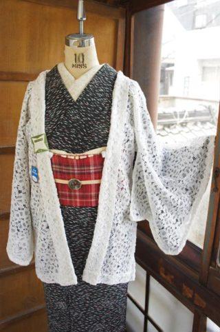 ☆新商品UPしました♪☆紗やレースの夏羽織を色とりどりに!
