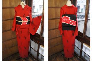 ☆新商品ラピュタナイトにUP愛らしい紬帯とか、矢羽ウールとか、今回もコーディバッチリですー☆