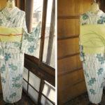 ☆新商品UP☆ 品薄になっていた夏着物とか爽やかグリーンの浴衣とかです♪
