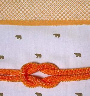 ビーズ帯締め 編んでみませんか?
