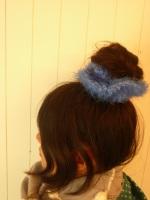 乙女の髪飾り