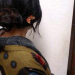 チョウチョのピンと長羽織♪