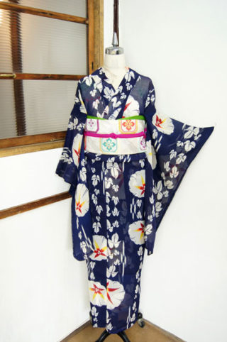 ☆新商品UP♪☆朝顔の夏着物やムッチャカッツカッコイイ松柄モダン浴衣とか!!