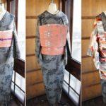 ☆新商品UPしました!☆今回は冬半衿と羽織のコーディ提案!