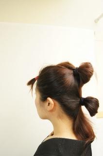 ☆レトロっぽいまとめ髪の作り方☆