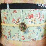 *半衿を帯揚げ替わりに半幅帯に合わせて巻く方法姉妹はこうしてます編*