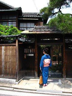 諏訪ノ森の古民家複合ショップ【遊】さん(キモノの似合う)