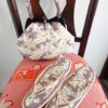 来ました!ビーズ草履と大きめビーズバッグのセット物!(*><*)!