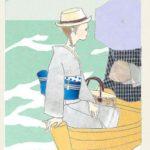 ☆夏のおすすめスタイル☆浴衣の着物風コーデ♪縮や絣のナチュラルスタイル編