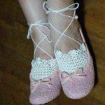 可愛い編み上げ靴下