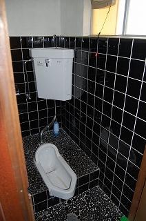 トイレ完成!